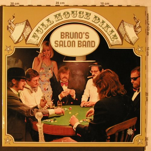 Bruno's Salon Band: Full House Dixie, Foc, Telefunken(TS 3186/1-2), D, 1973 - 2LP - X2483 - 9,00 Euro