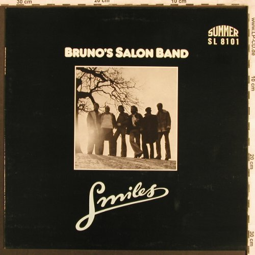 Bruno's Salon Band: Smiles, Summer(SL 8101), D,  - LP - X3749 - 7,50 Euro