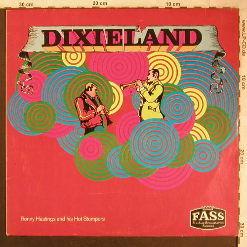 Hastings,Ronny  a. his Hot Stompers: Dixieland, Fass(1537 WY), D,  - LP - X4529 - 5,50 Euro
