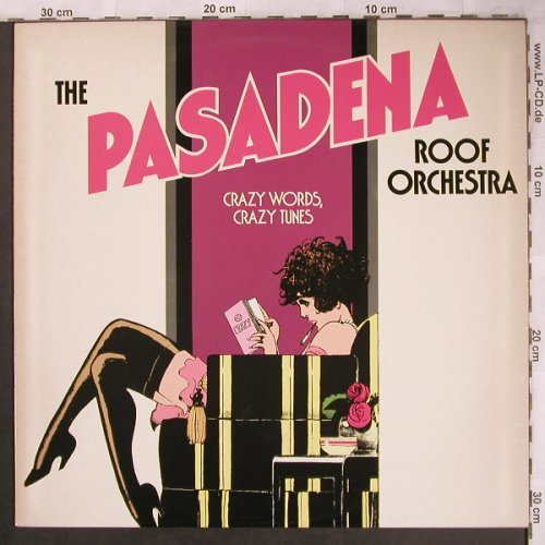 Pasadena Roof Orchestra: Crazy Words, Crazy Tunes, Aves(INT 146.540), D, 1982 - LP - X4645 - 5,00 Euro