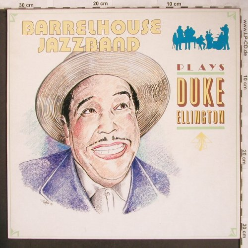 Barrelhouse Jazzband: Plays Duke Ellington, LR(40026), D, 1989 - LP - X4674 - 7,50 Euro