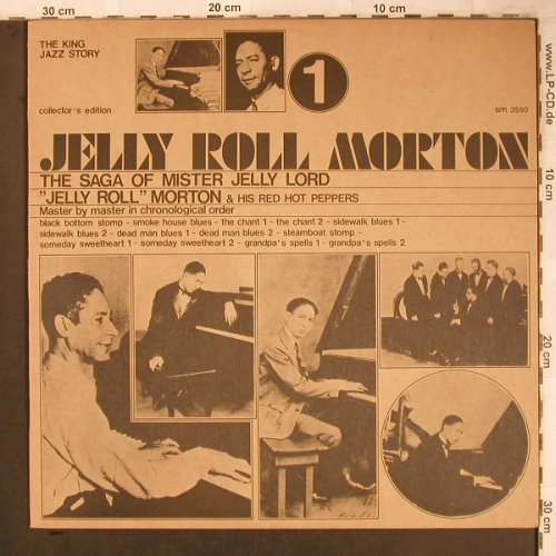 Morton,Jelly Roll: The Saga of Mister Jelly Lord (1), Joker(SM 3550), I, 1973 - LP - X4685 - 5,00 Euro
