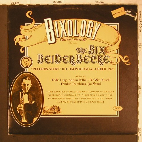 Beiderbecke,Bix: Bixology Vol. 8, Joker(SM 3562), I, 1973 - LP - X4687 - 5,50 Euro