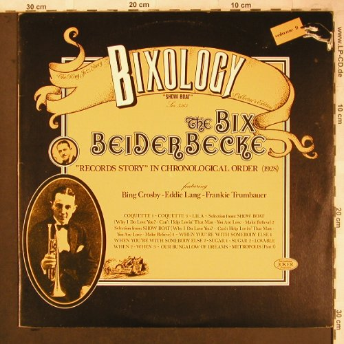 Beiderbecke,Bix: Bixology Vol. 9, Joker(SM 3565), I, 1973 - LP - X4688 - 5,50 Euro