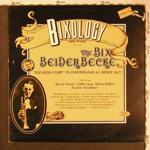 Beiderbecke,Bix: Bixology Vol. 4, Joker(SM 3560), I, 1973 - LP - X4692 - 5,50 Euro