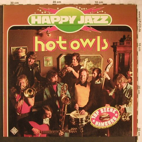 Hot Owls: Happy Jazz, Foc, Telefunken(6.28325 DP), D, 1975 - 2LP - X4732 - 7,50 Euro