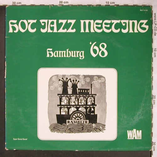 V.A.Hot Jazz Meeting Hamburg '68: Jazz O'Maniacs..Harald Eckstein Sex, WAM(MLP 15 401), D,vg+/vg+, 1971 - LP - X4780 - 4,00 Euro