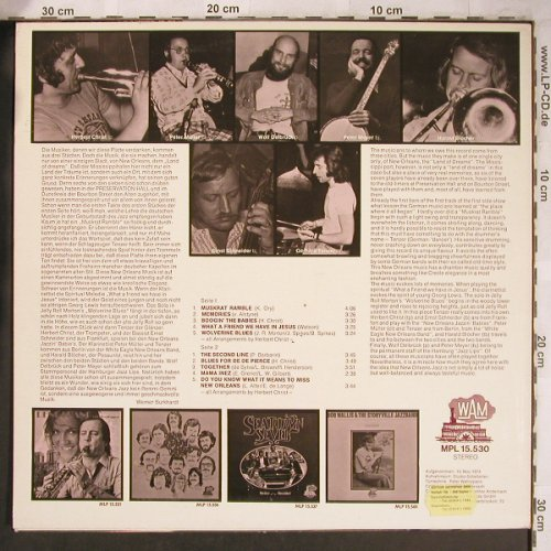 Christ,Herbert: New Orleans Jazz Band,rec.1974, WAM(MPL 15.530), D, 1975 - LP - X4785 - 7,50 Euro