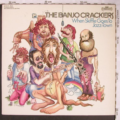 Banjo Crackers: When Skiffle goes to Jazz-Town, Intercord(26.475-4 B), D, 1975 - LP - X4789 - 9,00 Euro
