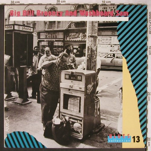 Big Bill Broonzy and Washboard Sam: Blues Collection 13, Amiga(8 56 458), DDR, 1989 - LP - X4790 - 7,50 Euro