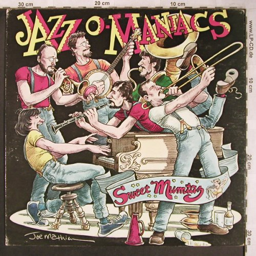 Jazz O-Maniacs: Sweet Mumtaz, Stomp Off (Vol.2)(SOS 1071), US, 1984 - LP - X4801 - 6,00 Euro