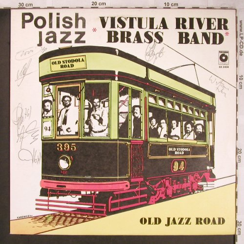 Vistula River Brass Band: Old Jazz Road(Polish Jazz Vol.68), Muza(SX 2404), PL, sign., 1982 - LP - X4820 - 6,00 Euro