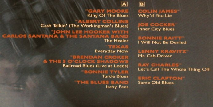 V.A.It's Blues: Hooker,Moore,Texas,Croker, Virgin(211 041), D, co, 1990 - LP - X4832 - 5,00 Euro