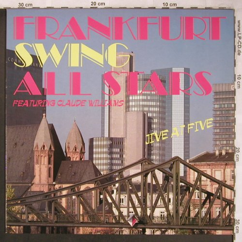 Frankfurt Swing All Stars: Jive at Five, Bellaphon/LR(LR 40025), D, 1988 - LP - X4842 - 6,00 Euro