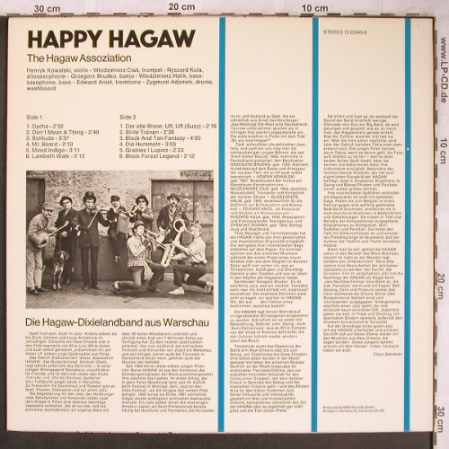 Hagaw Assoziation: Happy Hagaw, MPS/BASF(10 22443-0), D, 1975 - LP - X4844 - 7,50 Euro