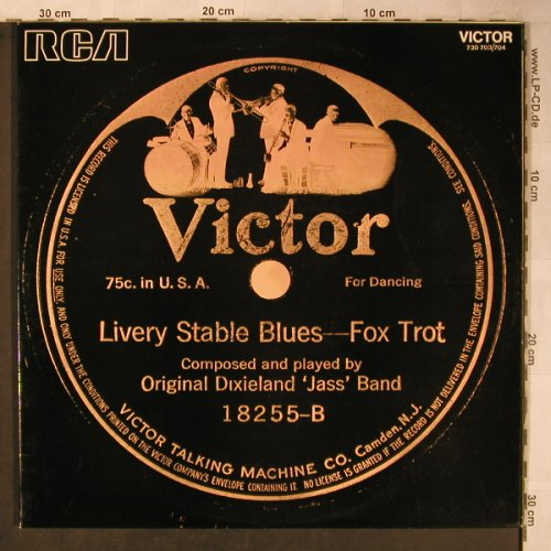 Original Dixieland Jazz Band: Livery Stable Blues, Foc, RCA(730 703/704), F,  - 2LP - X5515 - 9,00 Euro