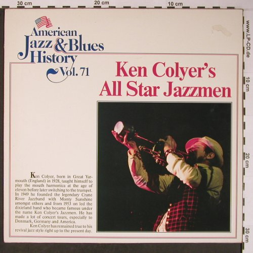Colyer,Ken - All Star Jazzmen: Same, Vol.71, m-/vg+, Tobacco Road(B/2571), D,  - LP - X6045 - 5,00 Euro