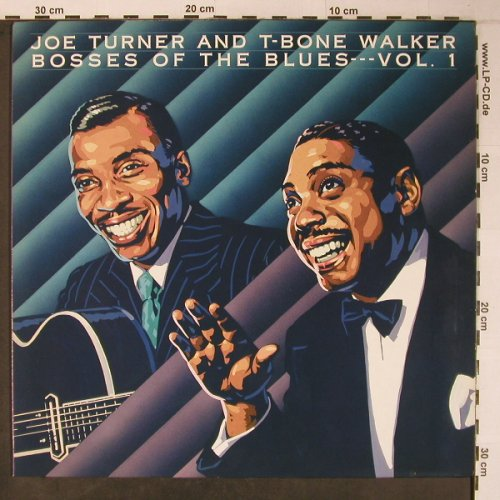 Turner,Joe and T-Bone Walker: Bosses of the Blues, Vol.1,like new, Bluebird(NL88311), D, 1989 - LP - X6406 - 25,00 Euro