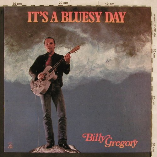 Gregory,Billy: It's A Bluesy Day, Appaloosa(AP 008), I, 1980 - LP - X642 - 5,50 Euro
