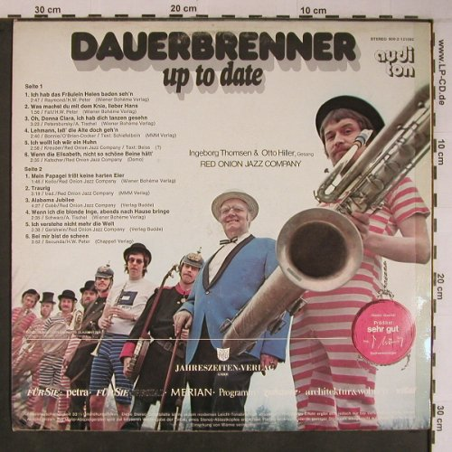 Dauerbrenner - Up to date: Ingeborg Thomsen,O.Hiller,Red Onion, Audi Ton(909-2-121092), D,  - LP - X6748 - 7,50 Euro