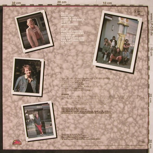 Downchild Blues Band: Road Fever, Attic(6.24637), D, 1980 - LP - X745 - 7,50 Euro