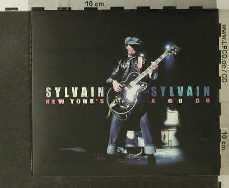 Sylvain Sylvain: New Yorl's A Go Go, Digi, Easy Action Recordings(EAR 004), , 2004 - 2CD - 50004 - 10,00 Euro