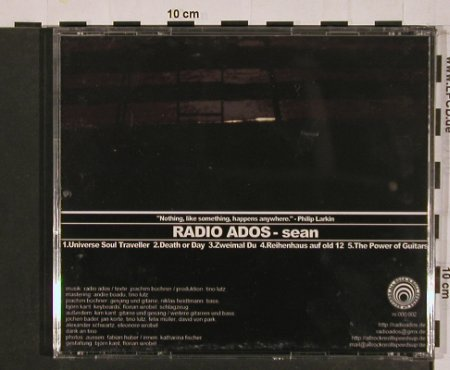 Radio Ados: Sean, 5 Tr., All R'n'R Speed Up(), , 2005 - CD - 50024 - 6,00 Euro