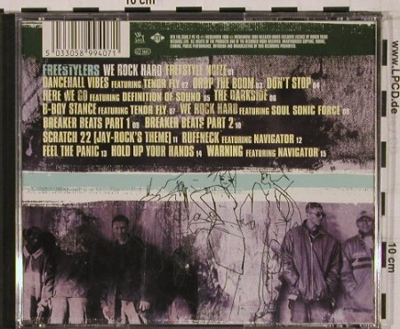 Freestylers: We Rock Hard, Jive(), D, 1998 - CD - 50070 - 7,50 Euro