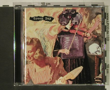 Green Day: Insomniac, Reprise(), D, 1995 - CD - 50205 - 10,00 Euro