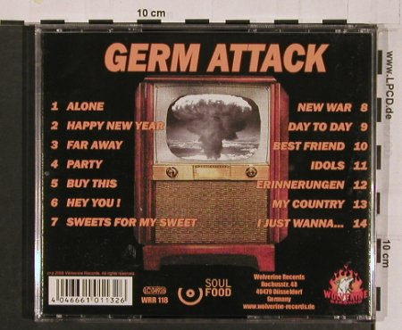Germ Attack: Bomb Party, Wolferine(WWR118), D, 2005 - CD - 50395 - 10,00 Euro