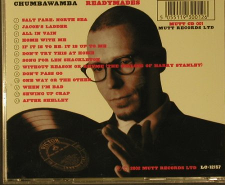 Chumbawamba: Readymades, Mutt Records Ltd.(001), EU, 2002 - CD - 50425 - 10,00 Euro