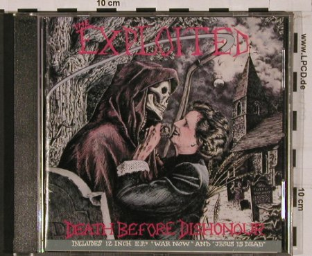 Exploited: Death Before Dishonour, vg+/m-, Rough(just 6), F, 90 - CD - 50522 - 10,00 Euro