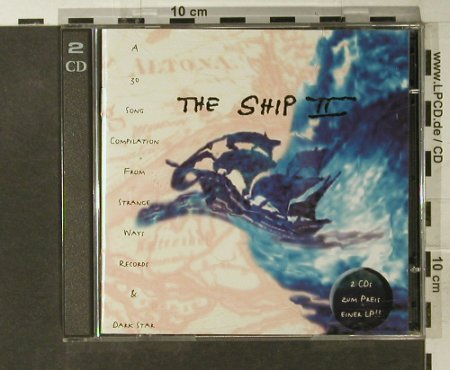 V.A.The Ship 2: 30 Tr. (Peron,Wofsheim.,AMX40...), Indigo(1150-2), D,  - 2CD - 50608 - 5,00 Euro