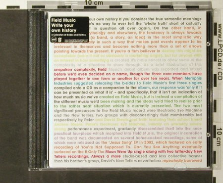 Field Music: Write Your Own History, Memphis Industries/V2(), EC, 2006 - CD - 50658 - 5,00 Euro