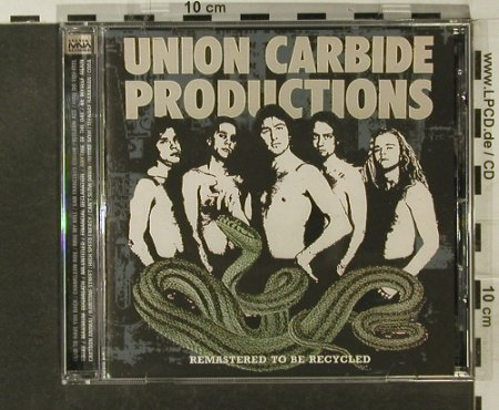 Union Carbide Productions: Remastered To Be Recycled, Push(MNWCD 2011), EU, 2004 - CD - 50680 - 10,00 Euro