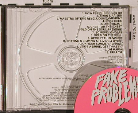 Fake Problems: How Far Our Bodies Go, vg+/m-, Gunner Records(ACT020CD), US,  - CDgx - 50703 - 10,00 Euro