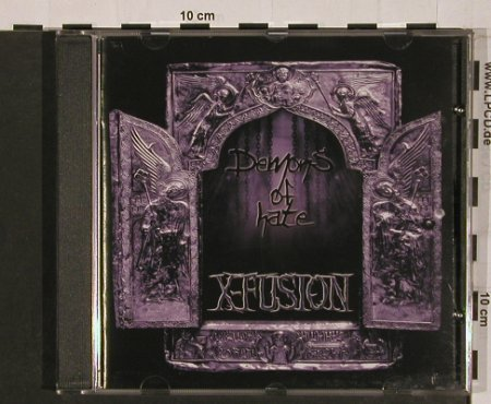 X-Fusion: Demons of Hate, Scanner(SCAN 047), D, 2005 - CD - 50718 - 10,00 Euro