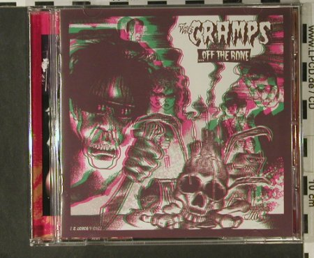 Cramps: Off The Bone, Zonophone(93837 2), EU, 1987 - CD - 50821 - 11,50 Euro
