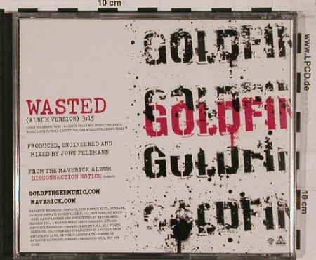 Goldfinger: Wasted,Promo 1Tr., Sony(), US, 2004 - CD5inch - 50832 - 2,50 Euro