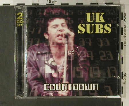 U.K.Subs: Countdown, Recall(SMD CD 331), UK, 2001 - 2CD - 50861 - 7,50 Euro