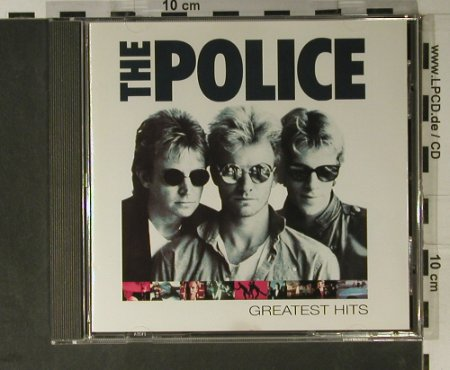 Police: Greatest Hits, AM(), D, 1992 - CD - 50868 - 7,50 Euro