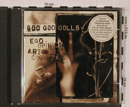 Goo Goo Dolls: Ego,Opinion,Art&Commerce, Edel(0127112HWR), D, 2001 - CD - 50934 - 7,50 Euro