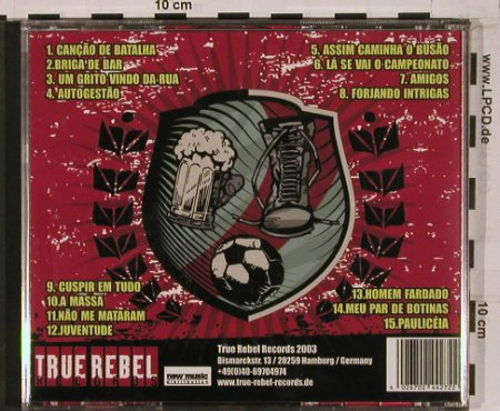 Flicts: Cancoes De Batalha, True Rebel Rec.(TRR 002), D, 2003 - CD - 51042 - 7,50 Euro