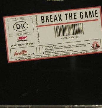 Furillo: Break The Game, Wolverine(), D,  - CD - 51138 - 5,00 Euro