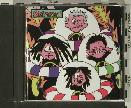 Skimmer: Vexed, Crackle!(005), UK,  - CD - 51173 - 7,50 Euro