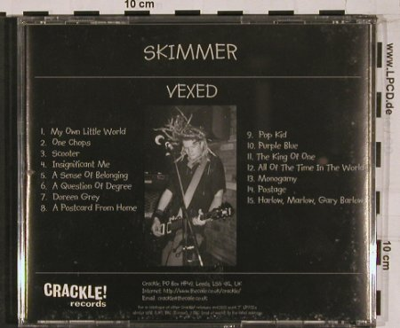 Skimmer: Vexed, Crackle!(005), UK,  - CD - 51173 - 11,50 Euro