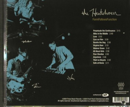 Hentchman, the: Forms Follows Function, Times Beach(), US, co, 2004 - CD - 51204 - 7,50 Euro