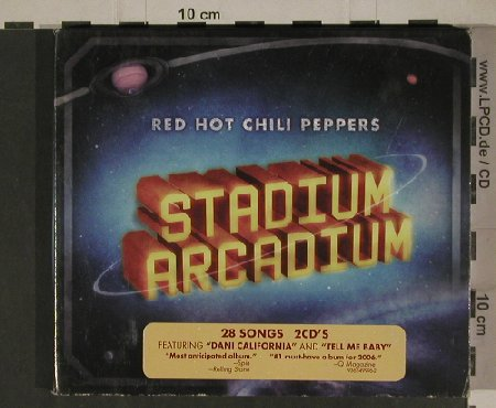 Red Hot Chili Peppers: Stadium Arcadium, Digi, WB(49996-2), EU, 2006 - 2CD - 51368 - 12,50 Euro