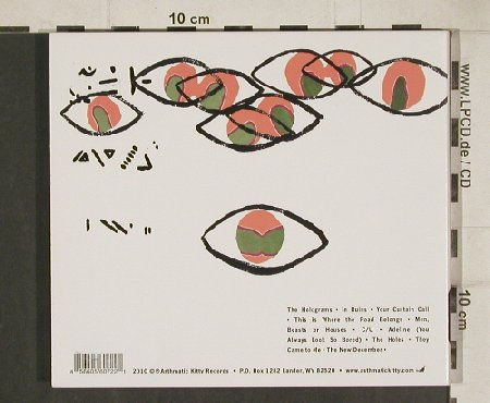 Fol Chen: Part II: the New December, Digi, Asthmatic Kitty(AKR072), , 2010 - CD - 51395 - 11,50 Euro