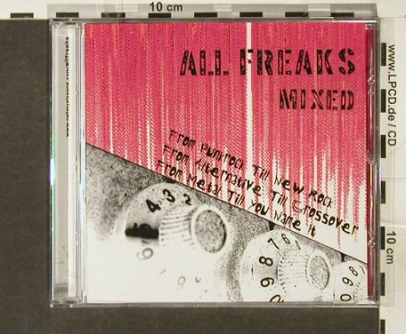 V.A.All Freaks: Mixed, From Punkrock till New Rock, NetMusicZone(), Promo,17Tr, 2005 - CD - 51481 - 5,00 Euro